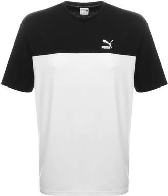 Puma Retro T Shirt In White