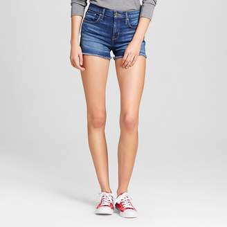 Mossimo Women's High-rise Shorts - Mossimo Dark Wash $22.99 thestylecure.com