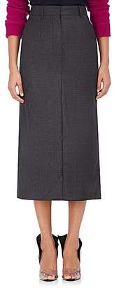 Calvin Klein Women's Plaid Wool-Silk Midi-Pencil Skirt