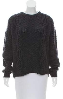 Iris von Arnim Oversize Crew Neck Sweater