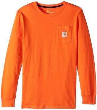 Carhartt Kids Cotton Pocket Tee Boy's T Shirt