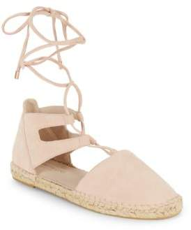 Beverly Lace-Up Espadrille Flats $120 thestylecure.com