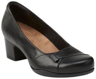 Clarks Artisan Slip-on Leather Pumps - RosalynBelle
