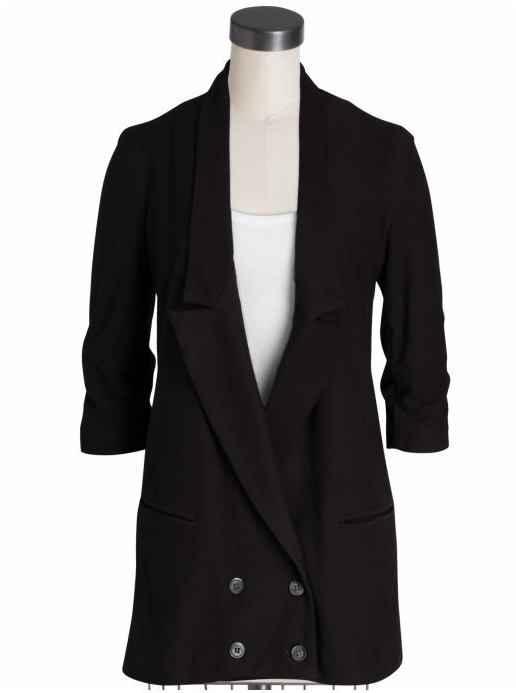 Monrow Double Breast Tux Jacket
