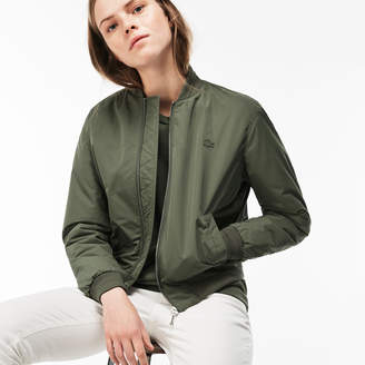 Lacoste Women's Quilted Water-Resistant Bomber