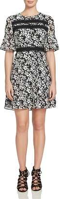 CeCe by Cynthia Steffe Bell Sleeve Floral Dress $138 thestylecure.com