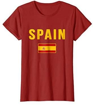 Spain T-shirt Spanish Flag Espana