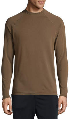 Asstd National Brand Military Fleece Crew Neck Long Sleeve Thermal Shirt Tall
