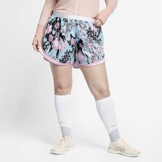 322965bf830 Nike Women s Floral Running Shorts (Plus Size Tempo