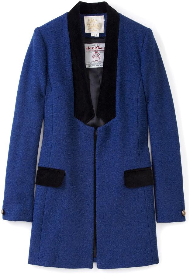 Sara Berman Yvette Velvet Trim Jacket
