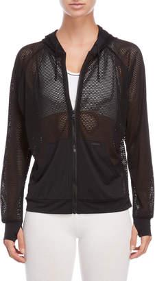 Blanc Noir Poolside Perforated Jacket
