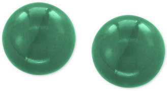 Effy Jade (10mm) Stud Earrings in 14k Gold