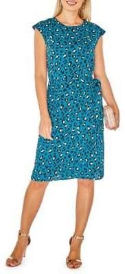 Dorothy Perkins Self-Tie Wrap Shift Dress