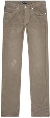 Tom Ford Corduroy Straight Leg Trousers