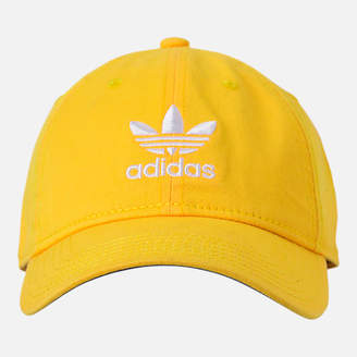 adidas Women's Precurved Washed Strapback Hat