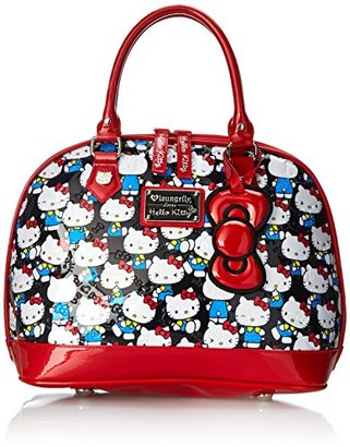 Hello Kitty Domed Satchel Top Handle Bag $75 thestylecure.com