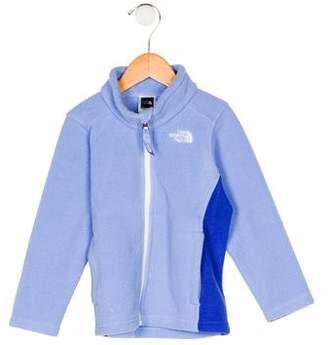 The North Face Girls' Zip-Up Fleece Jacket