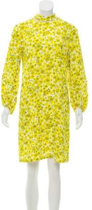 Lela Rose Floral Knee-Length Dress w/ Tags