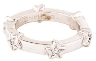 Chanel 18K Diamond Star Band