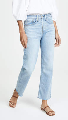 Rag & Bone Maya High Rise Ankle Straight Jeans