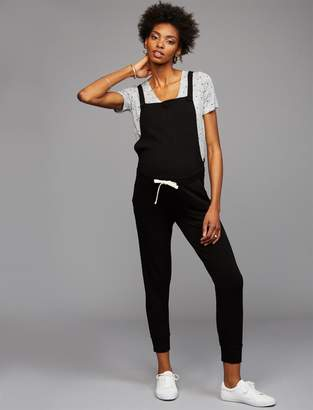 Monrow Tie Front Maternity Overall