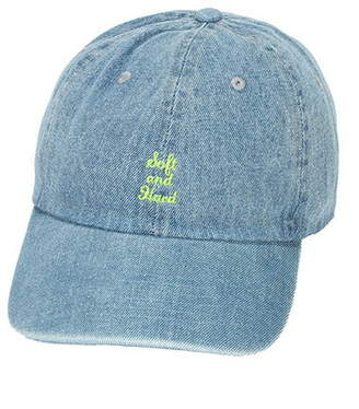 Doublename (ダブルネーム) - DOUBLE NAME 刺繍ローCAP NewHattan(B) レイカズン 帽子/ヘア小物