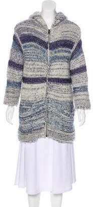 Etoile Isabel Marant Hooded Longline Cardigan