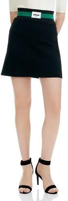 Maje Jimajor Dream A-Line Mini Skirt