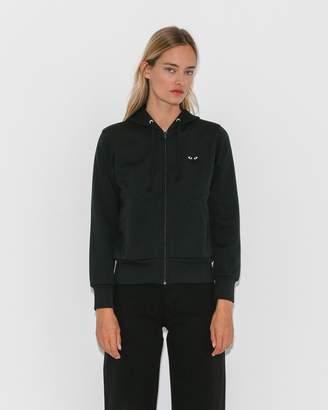 Comme des Garcons Black Play Sweatshirt w/ Big Heart