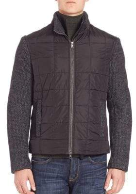 Blend of America Wool Bomber Jacket