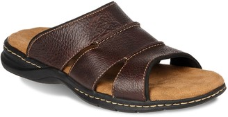 Dr. Scholl's Dr. Scholls Gordon Men's Leather Slide Sandals