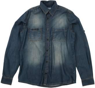 Philipp Plein Denim shirts - Item 42714173JQ