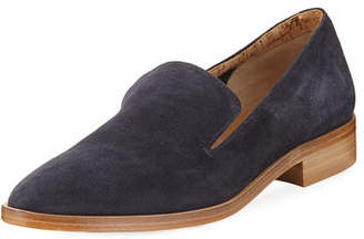 Alberto Fermani Calista Suede Slip-On Oxford