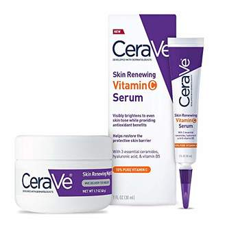 CeraVe Healthy Aging Skincare Duo | Contains 10% Pure Vitamin C Serum