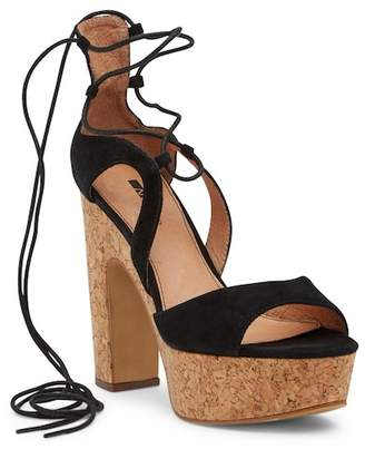 Matiko Alyce Suede Platform Sandal