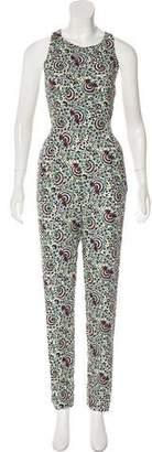 Paul & Joe Printed Sleeveless Jumpsuit