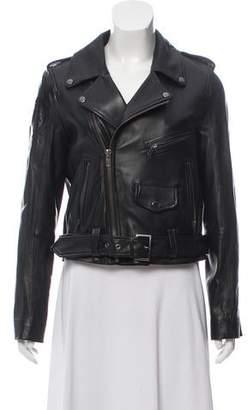 Jocelyn Embellished Leather Jacket
