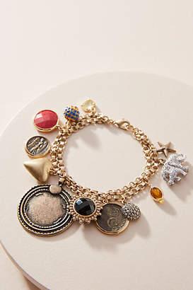 Anthropologie Jingle Charm Bracelet