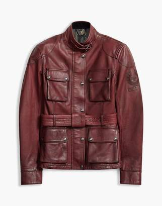 Belstaff Classic Tourist Trophy Jacket Red