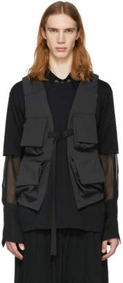 The Viridi-anne Black Utility Vest