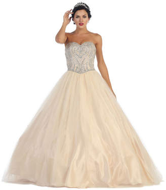 Asstd National Brand Sweetheart Formal Ball Gown - Juniors