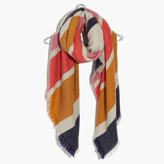Madewell Striped Blanket Scarf
