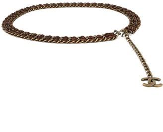 Charm & Chain Chanel Pre-Owned CC charm chain belt