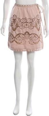 Valentino Crochet Mini Skirt w/ Tags