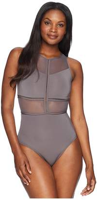 Jets Aspire High Neck One-Piece Women's Swimsuits One Piece