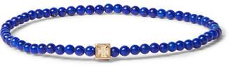 Luis Morais Lapis and 14-Karat Gold Bracelet - Blue