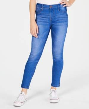 Celebrity Pink Juniors' Curvy Push-Up Ankle Skinny Jeans