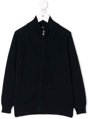 Il Gufo TEEN zipped cardigan