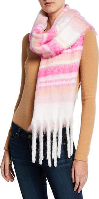 Collection XIIX Striped Cozy Scarf
