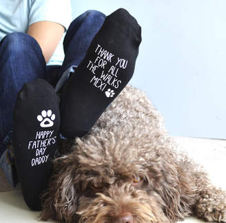 Solesmith Father's Day Socks From The Dog